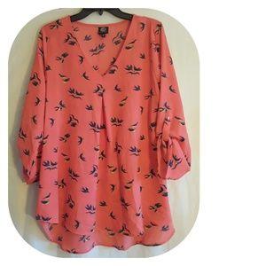 Bobeau Floral blouse